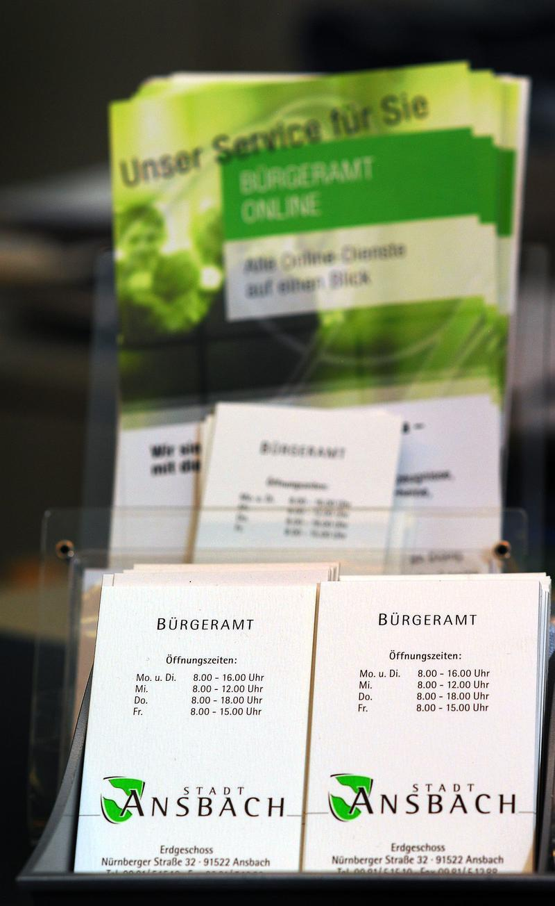 Terminvergaben Bürgeramt Stadt Ansbach