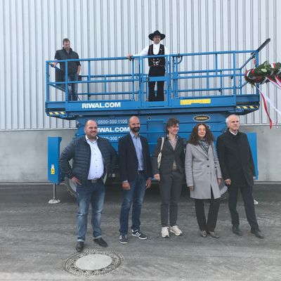 Richtfest beim Hermes-Logistik-Center
